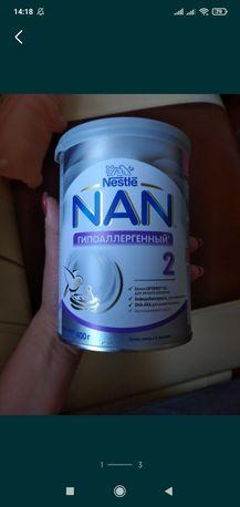 Продам гіпоалергенну суміш нан 2