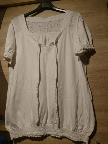Koszulka biała rozmiar 46-48
