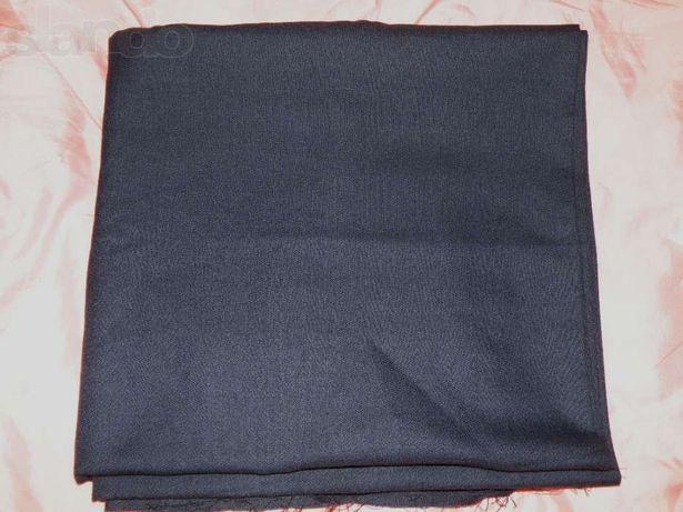 Ткань костюмная темно-серая винтаж