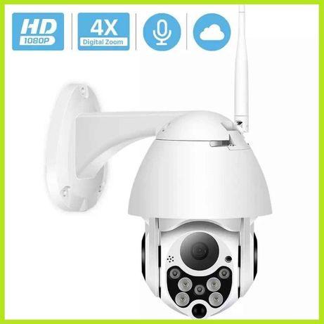Kamera WiFi FULLHD Monitoring Obrotowa ZEWNĘTRZNA Detekcja Podczerwień