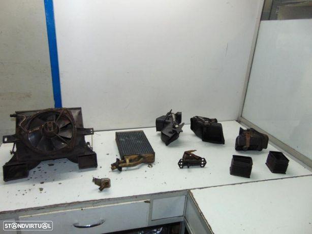 Opel Rekord D coupê caixa chaufagem