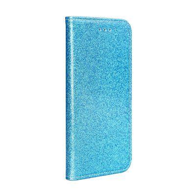 Capa Livro Horizontal Shining Lmobile Iphone 12 Mini - Azul Claro