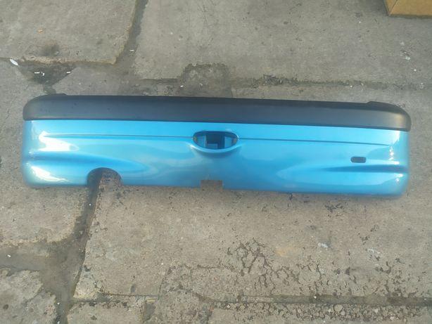 Zderzak tylny Peugeot 206 niebieski