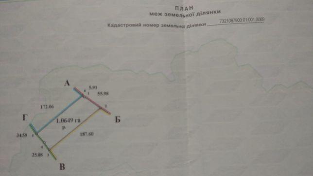 Продам земельну ділянку біля об'їзної м . Чернівці  для бізнесу