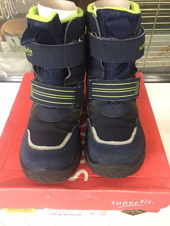 Зимние ботинки Superfit. Зимние ботинки для мальчика.
