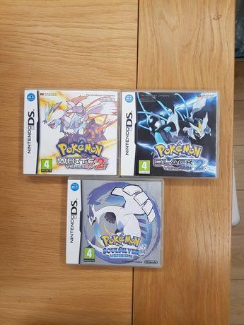 Pokemon soulsilver black 2 white 2 nintendo ds