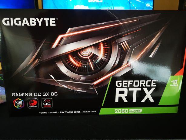 Placa Gráfica GIGABYTE GeForce RTX 2060 Super Gaming 8GB 3X OC