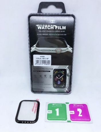 película de vidro 3D para Apple Watch 38, 40, 42 e 44mm