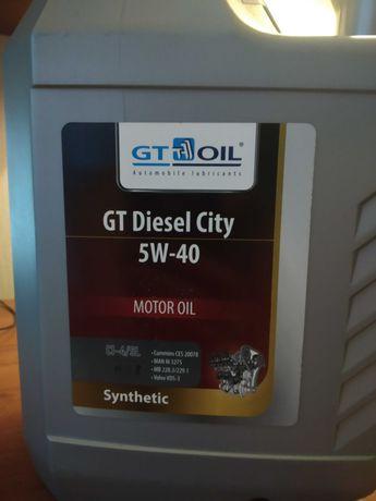 Продам масло моторное GT 5w40, 6 л