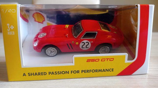 NOWE Auto Ferrari 250 GTO kolekcja Shell, org. zapakow. autko prezent