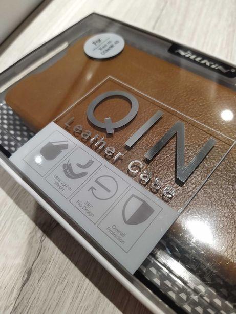 Nowe skórzane etui do Xiaomi Mi A3 - Nillkin QIN Leather Case