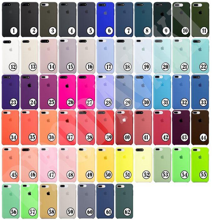 чехол silicone для iphone 5 5s SE 6 s plus 7 8 plus X XS XR 11 pro MAX Киев - изображение 1