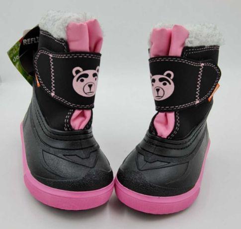 Продам нові дитячі зимові термочобітки Demar BEAR рожеві