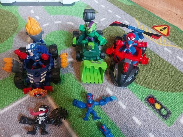 Marvel mashers Micro Hulk spiderman