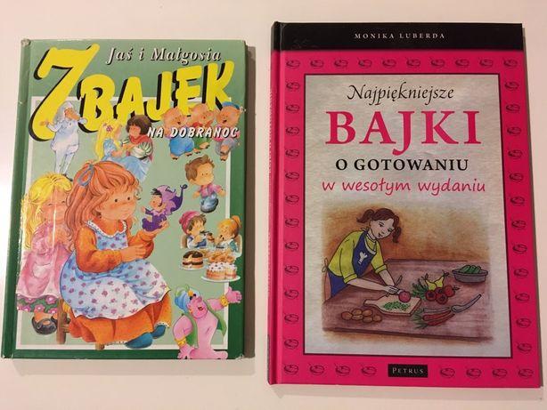 Książeczka Najpiękniejsze bajki o gotowaniu / 7 bajek na dobranoc