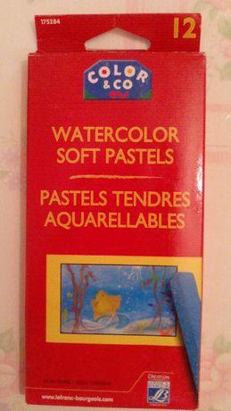 Pastel (aquarela) em 12 barras (Color & Go)