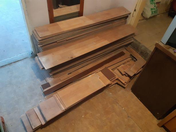 Oddam panele podłogowe z demontażu