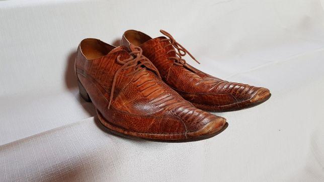 Skórzane buty męskie roz. 44