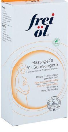 Olejek do masażu dla ciężarnych, olejek na rozstępy, frei ol, niemieck