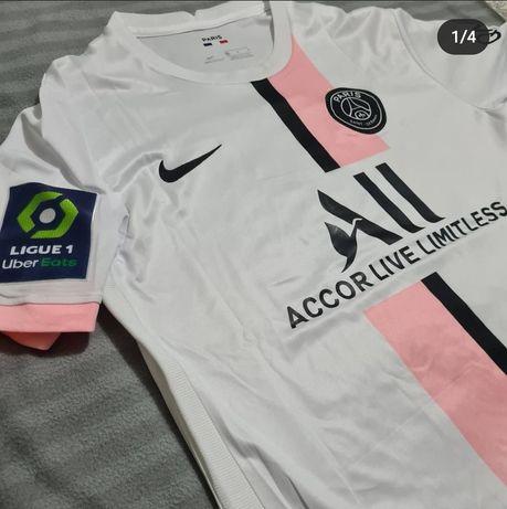 Camisola PSG Branca 21/22 #30 Messi + Calções