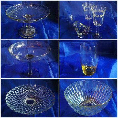 Хрусталь стекло посуда ссср винтаж