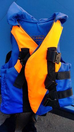 Детский спасательный жилет 30-50 кг
