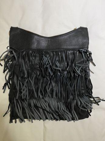 Mala Zara com franjas