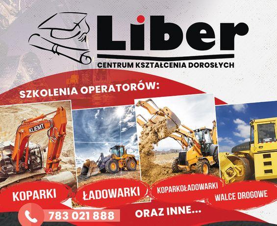 Kurs na operatorów koparki, koparko-ładowarki i ładowarki start 17.07