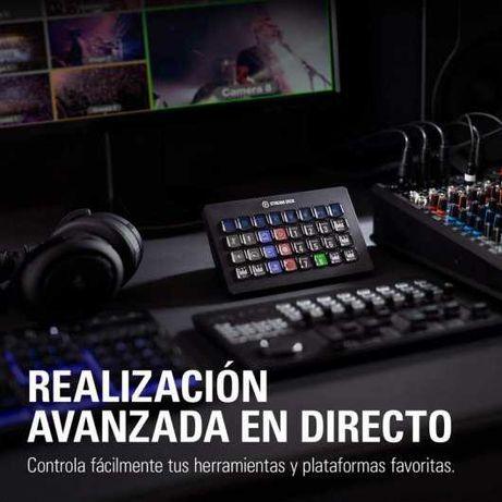 Elgato Stream Deck XL Controlo Avançado de Streaming 32 Teclas LCD
