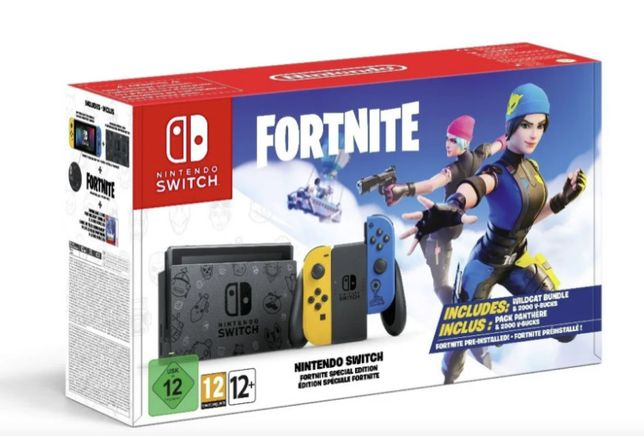Nintendo Switch Edicão Fortnite