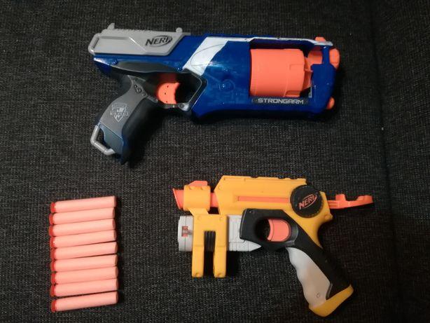Duże pistolety NERF 2szt