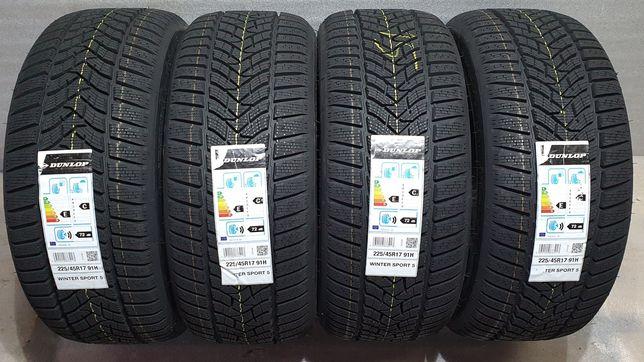 225/45R17 Dunlop Winter Sport 5 91H M+S 2020 rok!!!