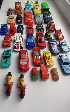 Машинки, мотоциклы, самокаты 36 предметов.