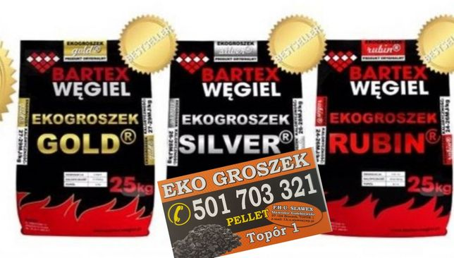 "Ekogroszek Bartex GOLD typu "" Wesoła "" transport GRATIS *"