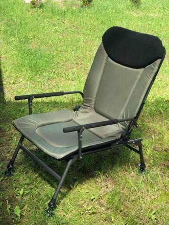 Кресло усиленное карповое до 150кг Vario Carp XL + ГАРАНТИЯ + ДОСТАВКА
