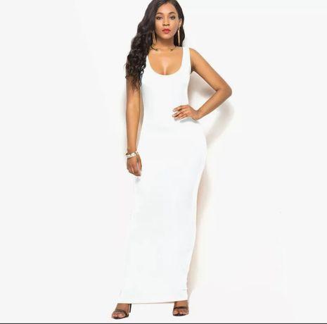 Vestido branco comprido NOVO!