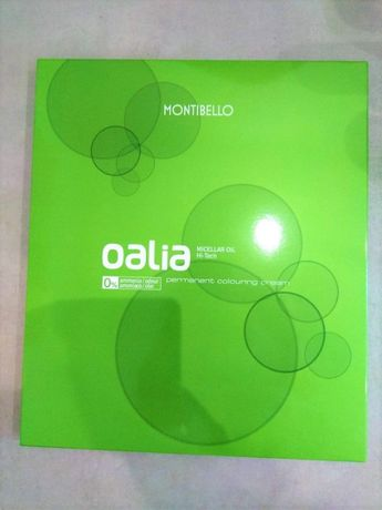 paleta Oalia Montibello próbnik paletka kolorów farb