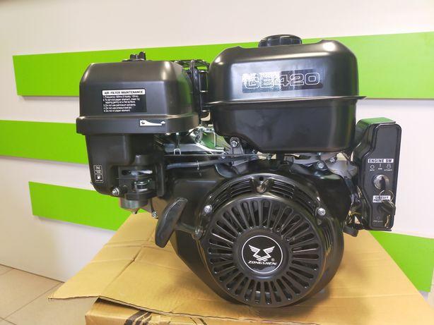 Silnik zongshen gb420 13km wał 25,4 rozrusznik elektryczny