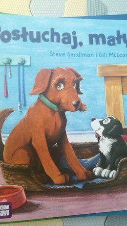 Posłuchaj mały Smallman poczytajmy razem