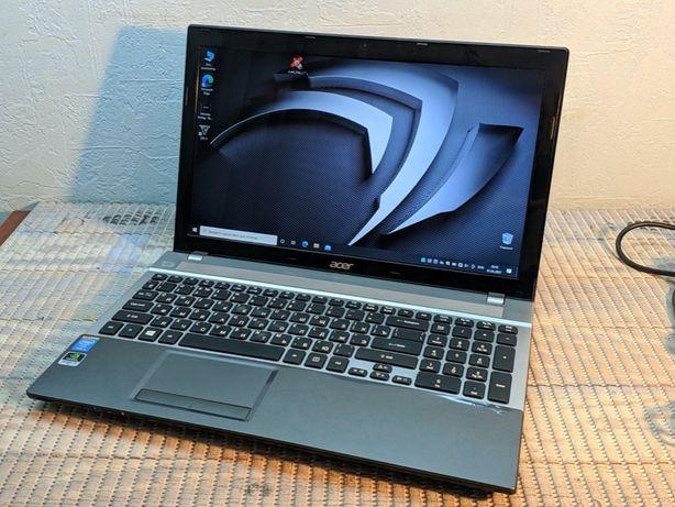 Мощный Игровой ноутбук Acer intel Core i5 3.1Ghz Geforce 630M 2GB