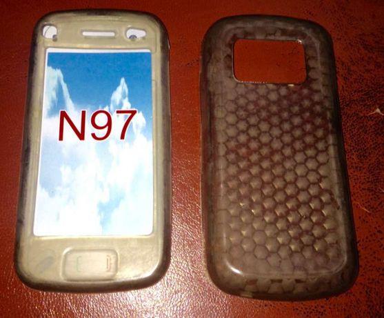 NOWE etui silikonowe dwu częściowe do Nokia 97. Tychy.