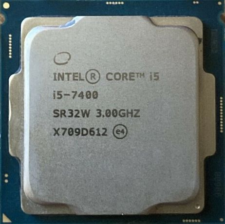 Процессор i5 7400 3.0GHz 6Mb Intel Core 1151 SR32W | Гарантия 1 Год