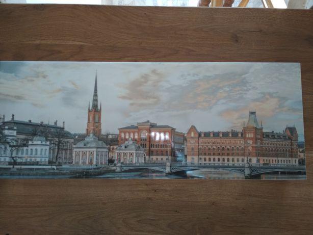 Вид Стокгольма. Картина из керамической плитки. Декор