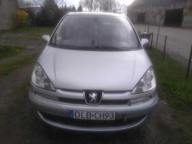 Peugeot 807 uszkodzony