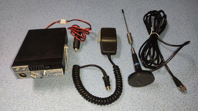 Rádio CB cobra 19 plus + antena Midland magnética