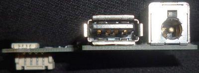 Плата б/у с разъемом питания и USB для HP Pavilion dv6000