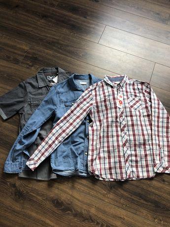 Лот з 3 сорочок на хлопчика 13-14 років 158-164см