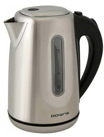 Электро чайник Polaris новый. Нержавеющая сталь. Фильтр очистки воды.