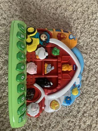 Музыкальная игрушка  ферма от чико