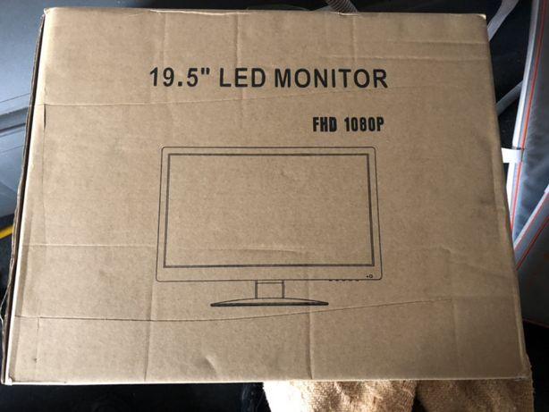 Zestaw do monitoringu DAHUA monitor+3 kamery